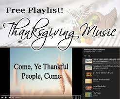 thanksgiving songs celebrating holidays