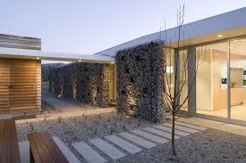 modern desert home design white ceiling of modernist architecture desert house landscaping