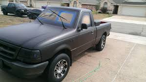 sunday project plasti dipped my ford ranger the results were