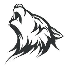 wolf designs simple geometric wolf design bmhmarkets
