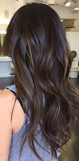 hi and low lights on layered hair dark brunette balayage brigitte schwartz jonesboro ar
