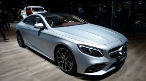 2018 mercedes benz s class and mercedes amg s class coupe and