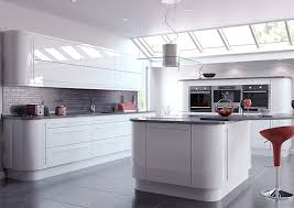 Best Place For Kitchen Cabinets Best 25 White Gloss Kitchen Ideas On Pinterest Modern Cabinets