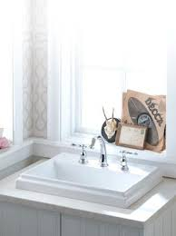 Standard Bathroom Vanity Top Sizes by Vanities Bathroom Vanity Top For Drop In Sink Drop In Bathroom