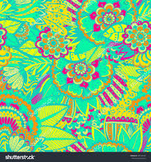 doodle indian bright beautiful pattern pattern stock vector 301502549