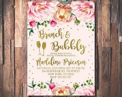 bridal brunch invite brunch invitation etsy
