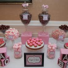sugar and spice baby shower sugar and spice baby shower candy buffet