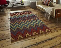 Modern Rugs Ltd Multi Coloured Az 01 Tufted Modern Rug