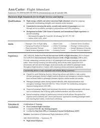 flight attendant resume flight attendant resume sle