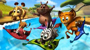 madagascar preschool slides surf n u0027 slides fun learning for