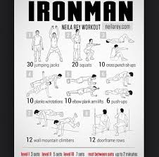 diet food healthy ironman plan program training work out