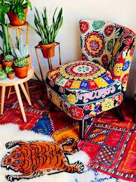 Suzani Fabric Chair Suzani Upholstery Jungalowjungalow
