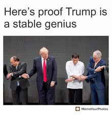 Genious Meme - here s proof trump is a stable genius memeyourphotos genius meme