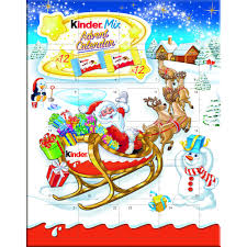 advent calendar kinder santa advent calendar 135g at wilko