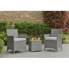 Patio Furniture Resin Wicker by Resin Wicker Conversation Sets You U0027ll Love Wayfair