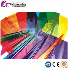 where to buy cellophane assorted color cellophane paper foil collage crafts size 75cm x 1m
