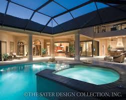 saterdesign com cantadora house plan outdoor living mediterranean house plans