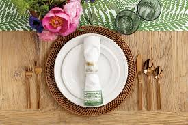 Table Place Settings by Summer Place Setting Ideas How To Decorate