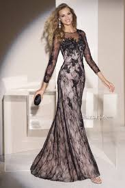evening dresses with sleeves kzdress