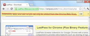 chrome google webstore how to install extensions from outside the chrome web store