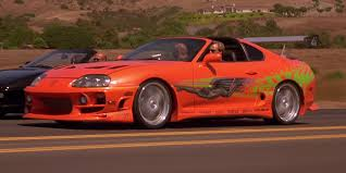 toyota fast car 25 of the coolest cars that have been in u0027the fast and the furious