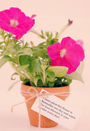 Flower Favors by Creatively Flower Wedding Favors Budget Friendly