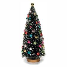 frosted sisal tree w ornaments cappel s