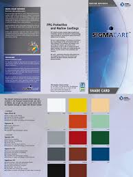 sigma paint color chart pdf color list equivalence ip ral
