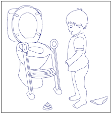 free potty training coloring pages download