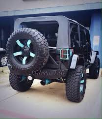 black and turquoise jeep black jeep with a touch of teal sweet rides pinterest jeeps