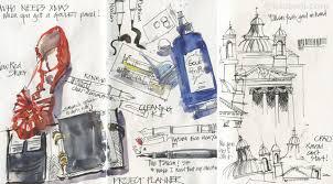 fountain pen sketching behind the scenes liz steel liz steel