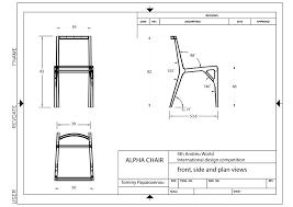 Blueprints Free by Cardboard Chair Blueprints