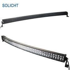 52 inch led light bar cover 52 inch curved led light bar 500w work light bar 4d truck 4x4 atv