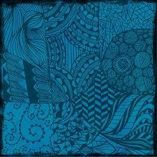 Hintergrundmuster Blau Kostenlose Illustration Blau Abstrakt Hintergrund Muster