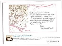 wedding honeymoon registry honeymoon registry at encore rayce pr