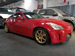 Nissan 350z Horsepower 2006 - breaking nissan 350z coupe 3 5 v6 gt red 2006 in sandwell west