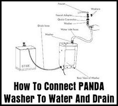 Washing Machine That Hooks Up To Faucet Panda Washing Machines And Dryers Parts User Guide U0026 Repair