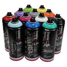 ironlak 400ml most popular colors set of 12 u2013 infamyart