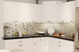 mosaic tile for kitchen backsplash decoration ideas appealing l shape kitchen decoration with white