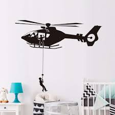 airforce helicopter army wall sticker home decor living room art airforce helicopter army wall sticker home decor living room art military wall decoration vinyl wallpaper for