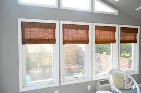 Bamboo Curtains For Windows It U0027s Gettin Hot In Hur So Add Some Bamboo Blinds Young House Love