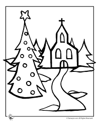 christmas church coloring woo jr kids activities