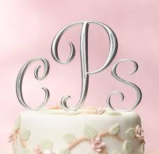cake monograms cake toppers bridal expo chicago milwaukee