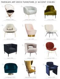 achieving the parisian art deco style furniture emily henderson