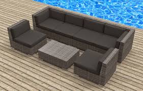 Chicago Wicker Patio Furniture - patio furniture sofa and modern wicker sectional outdoor sofa sets