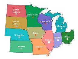 Google Maps Ohio Google Maps Midwest Usa Volgogradnews Me