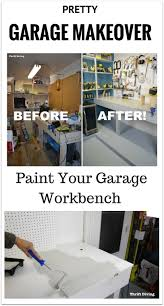 before u0026 after garage workbench makeover using beyond paint