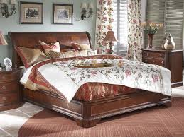King Sleigh Bed Frame Fine Furniture Design King Sleigh Bed
