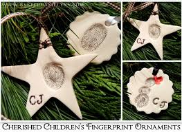 make your own cherished children s fingerprint ornaments from clay