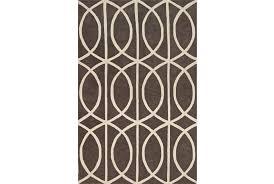 rug 96x120 rug infinity grey living spaces